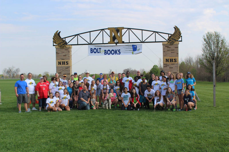 Noblesville Midday's high school InterAct Club - 5k