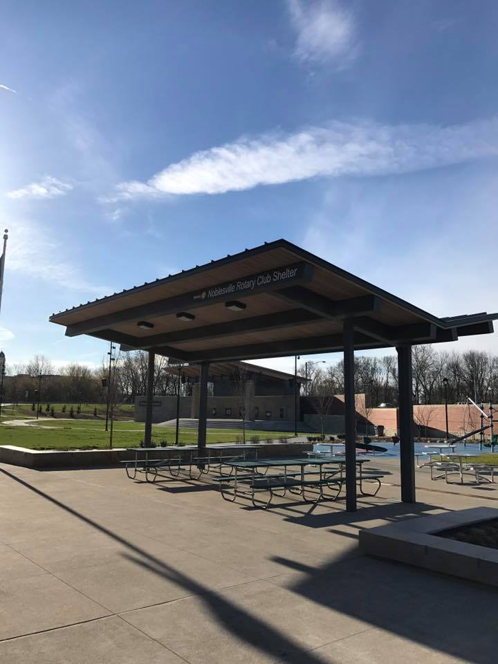 Rotary Club Shelter - Federal Hill Commons Park